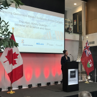 Collaborative genomics investments for a healthier Ontario