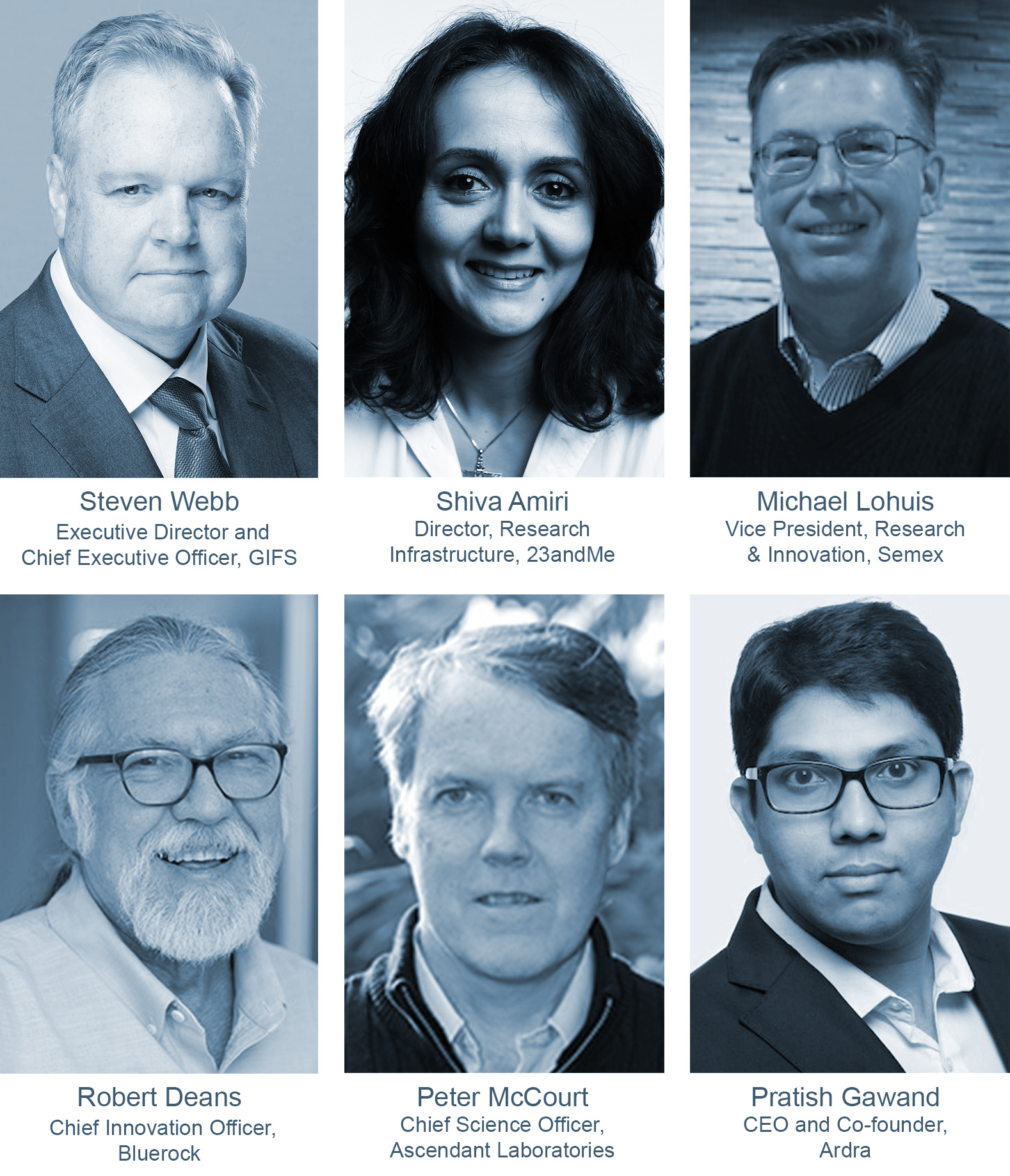 Genomics at the Tipping Point Speakers
