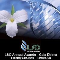 LSO 2016 Annual Awards Gala Dinner | Toronto, February 24