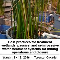 Best Practices for Treatment Wetlands, Passive, and Semi-passive Water Treatment Systems for Mining Operations and Closure | Toronto, March 16-18
