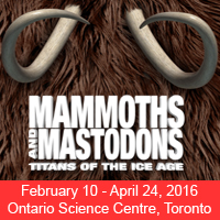 Mammoths and Mastodons exhibit opens February 10