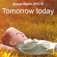 Tomorrow today, Ontario Genomics' annual report
