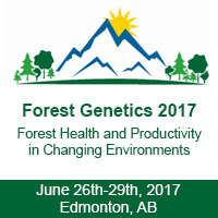 Forest Genetics 2017 – Edmonton, AB – June 26th-29th, 2017