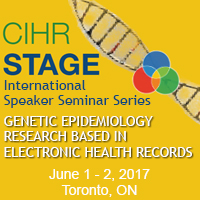 Genetic Epidemiology Research Based in Electronic Health Records – Toronto, June 1 & 2