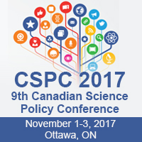 9th Canadian Science Policy Conference – Nov. 1-3, Ottawa, ON