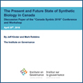 2018 Canada SynBio: Discussion Paper